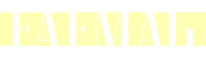FAFMAG logo white